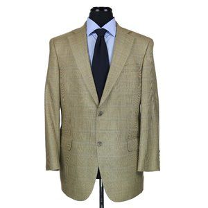 Hart Schaffner Marx Silk Wool 2-Btn Sport Coat 40R
